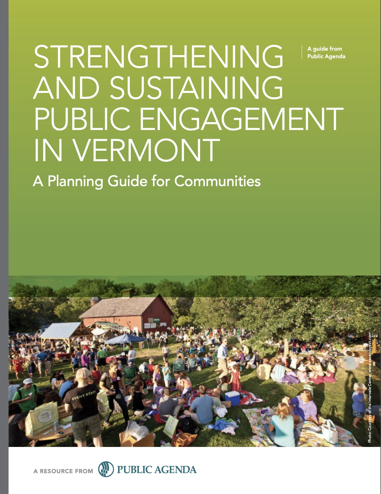 Strengthening And Sustaining Engagement In Vermont