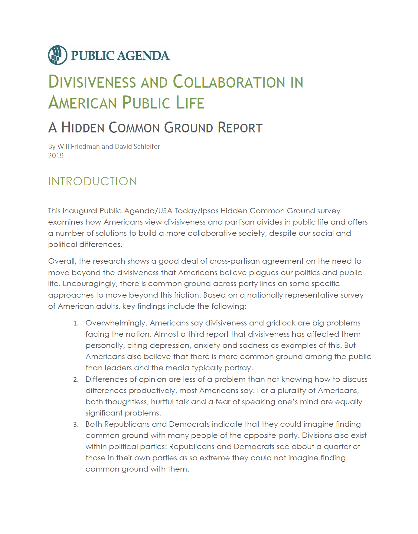 Divisiveness and Collaboration Cover