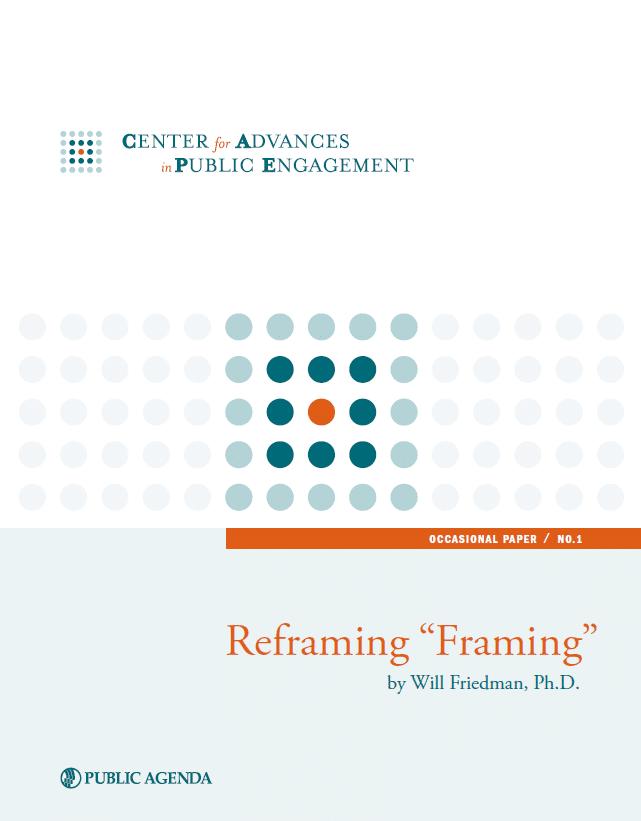 Reframing Framing