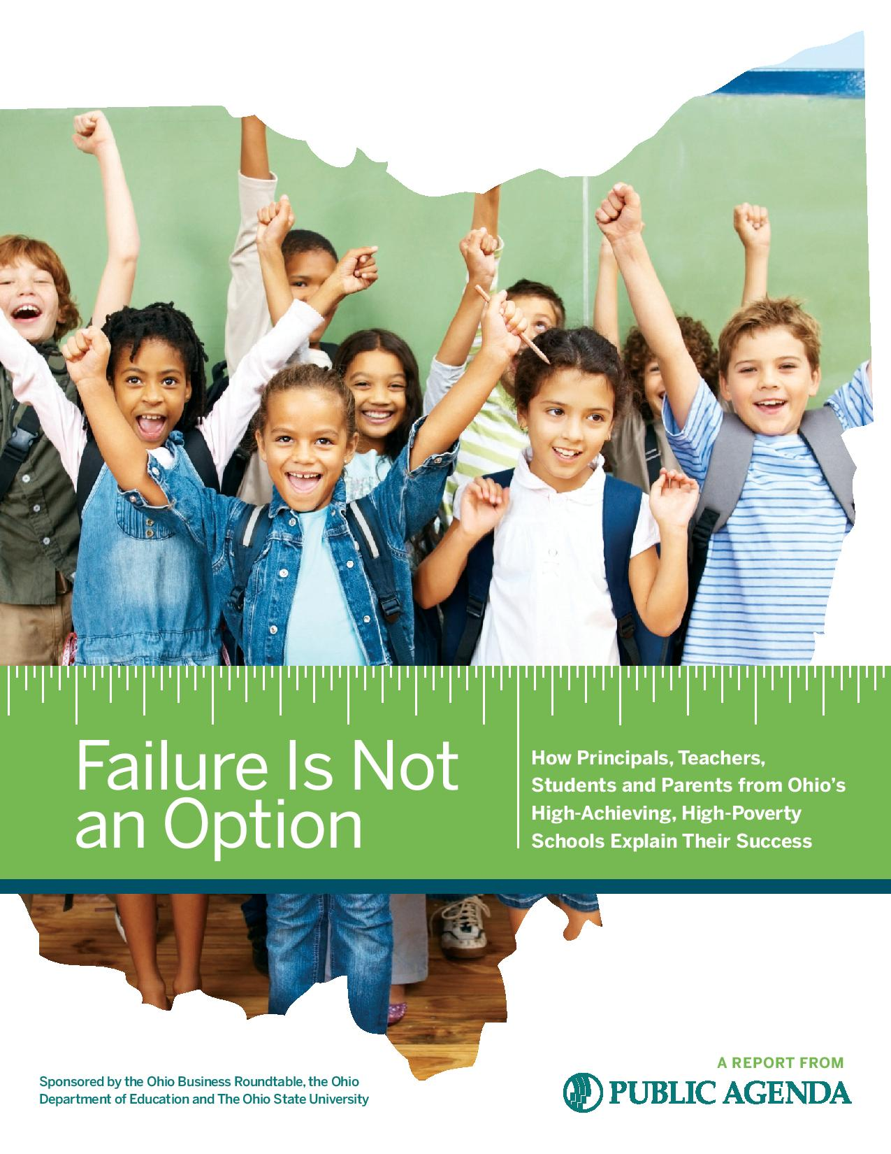 Failure Is Not An Option Page 001